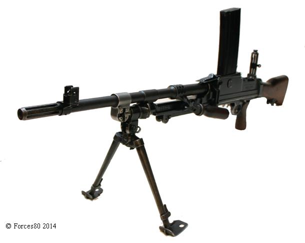 light machine gun weight